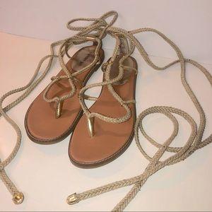 Madden Girl lace up sandal size 11